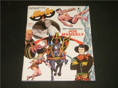 Alter Ego # 28 Timely Marvel Great JOE MANEELY Spt '03