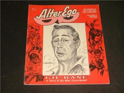 Alter Ego V1,#10 '67 Gil Kane,Jim Steranko,Joe Kubert