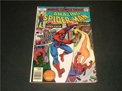 Amazing Spider-Man #167 Apr 77 Stalked By Spider Slayer
