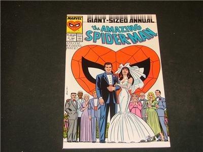 Amazing Spider-Man Annual #21 '87 Wedding Special