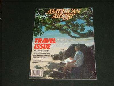 American Artist Magazine March 1985 Art & Photography