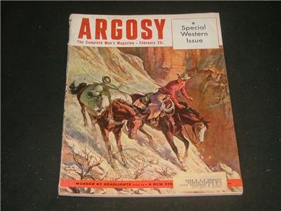 Argosy February 1953 Special Western Issue