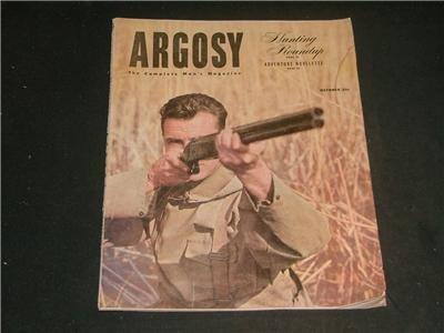 Argosy October 1951 Complete Man's Magazine