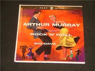 Arthur Murray Rock N Roll Big Dave Part 2 45 RPM