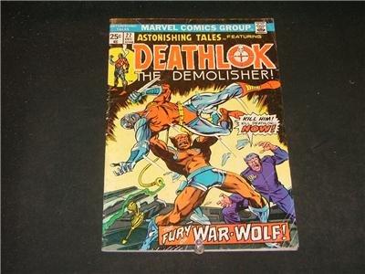 Astonishing Tales #27-31 Deathlok/Guardians of the Gala