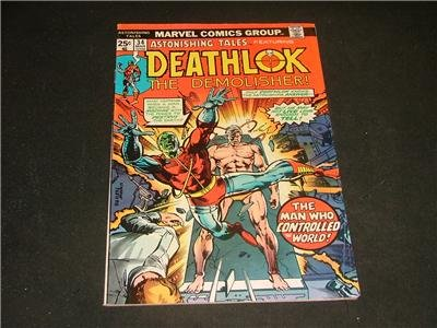Astonishing Tales #34 Mar '76 Deathlok The Demolisher