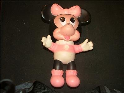 Baby Minnie Mouse Doll 1970's