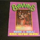 BANANAS '78 Rock & Roll KISS, ELTON, ELVIS