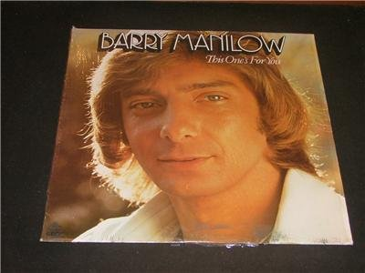 Barry Manilow This One's For You 1976 LP