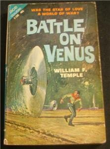 Battle on Venus - The Silent Invaders - 2 in 1 pb 1963