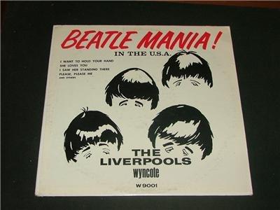 Beatle Mania In The U,S.A. Album The Liverpools 1964!