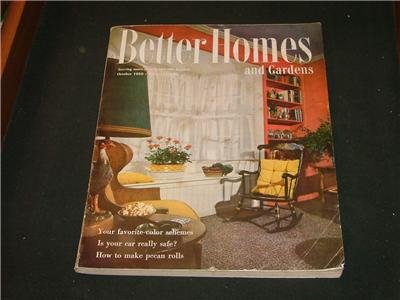 Better Homes and Gardens GARDENING RECIPES Oct. 1950