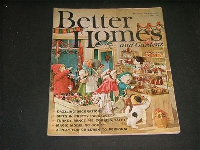 Better Homes and Gardens No Label DECORATIONS Dec. 1961