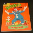 BOZO the Clown Coloring Book 1966 VERY NICE