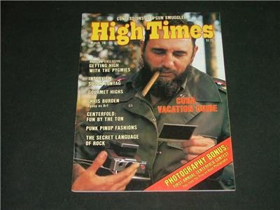 High Times Magazines March '78 Gourmet Highs