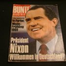 BUNTE ILLUSTRATED may 3 1969 ( Nixon cover )