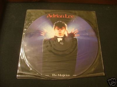 ADRIAN LEE very rare THE MAGICIAN PICTURE DISC 1982