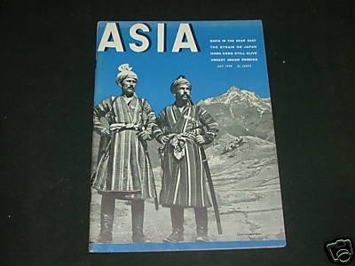 Asia July 1939 Nazis,Indian Princes,Hong Kong,Japan