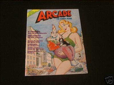 Arcade The Comics Review #7 Fall 1976