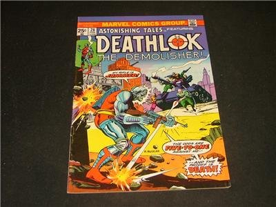 Astonishing Tales #28 Feb '75 Deathlok The Demolisher