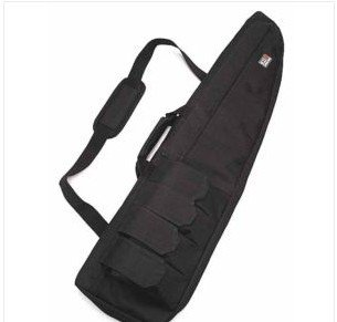 "40"" Tactical AEG Rifle Sniper Case Gun Bag Mag Pouch BK"