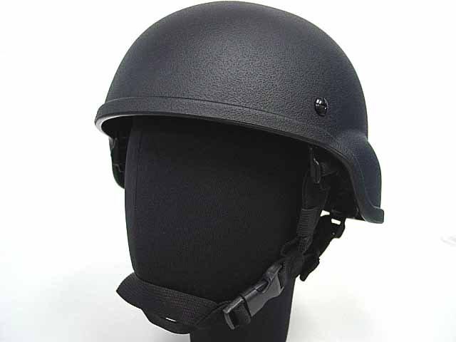 Airsoft MICH TC-2000 ACH Light Weight Helmet Black BK