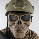Skull Airsoft Paintball BB Gun Full Face Protect Mask
