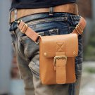 NEW FASHION MEN'S PURSE WAIST SHOULDER PU LEATHER BAG