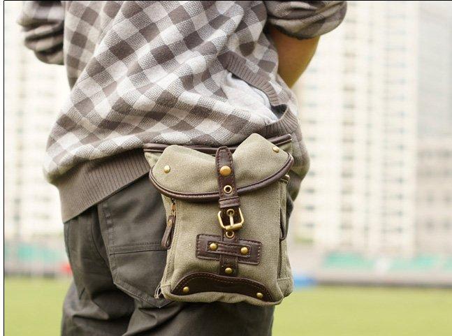 Men�s Italian Fashion Waist pack Messenger Bag A03