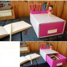 Paper Desk Storage Box Organizer for home and office