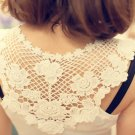 New Sexy Lace Girl Clothes Tank Top Tee Shirt ( Whites )