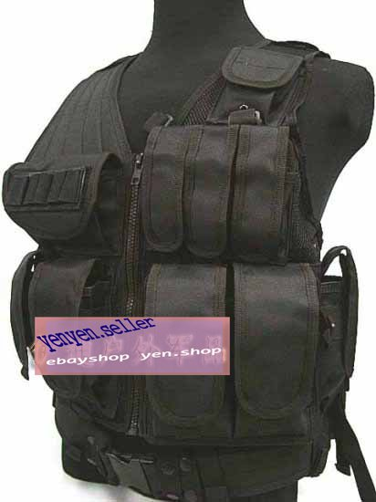 SWAT Airsoft Tactical Hunting Combat Vest Coyote