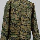 SWAT Navy Digital Camo Woodland BDU Uniform Set L