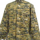 SWAT Digital Camo Woodland BDU Uniform Shirt Pants L