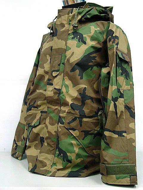 SWAT Airsoft Parka Jacket Waterproof Camo Woodland XL