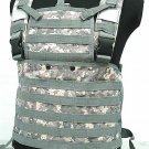 Molle Chest Rig Platform Carrier Vest Digital ACU Camo