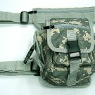 Drop Leg Utility Waist Carrier Bag Digital ACU Camo