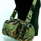 US Molle Utility Waist Pouch Bag Digital Camo Woodland