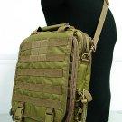 Molle Utility Shoulder Bag Notebook Case Coyote Brown