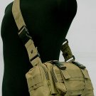 SWAT Airsoft Molle Utility Waist Pouch Bag Coyote Brown