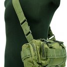 SWAT Molle Utility Hunting Waist Pouch Bag Pack OD