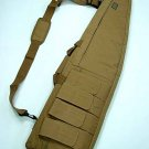 "48"" Rifle Sniper Case Gun Bag Mag Pouch Coyote Brown CB"