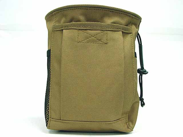 Molle Magazine Mag NVG Tool Drop Pouch Bag Coyote Brown