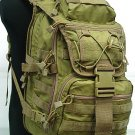 Airsoft Molle Patrol Gear Assault Backpack Coyote Brown