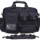 Airsoft Tactical Utility Briefcase Shoulder Bag Case BK