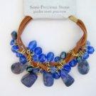 NWT Royal Blue Semi-Precious Stone Bracelet