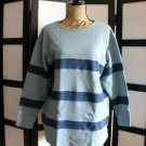Hasting and Smith blue stripe long sleeve top medium