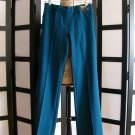 New York & Company stretch blue 7th Ave pants wide leg size 0 zero