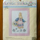 Daisy Kingdom Bucilla Meadow Bunny counted cross stitch kit 40562-416