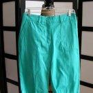Counterparts stretch green Bermuda shorts size 4